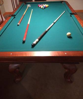 Antique Vitale Pool Table (SOLD)
